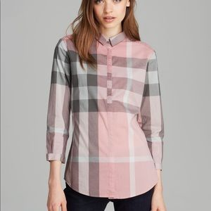Burberry Brit Check Print Shirt